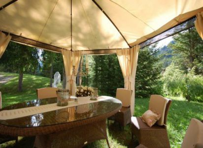 Chalet Morin T2 Agenzia Table Corvara in Badia
