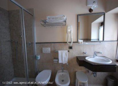bagno fornito con servizio cortesia