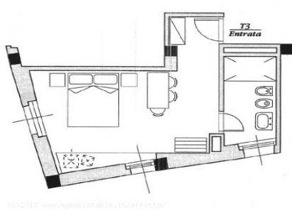 planimetria camera T 3 - miramonti